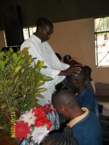 Emmanuel giving thanks